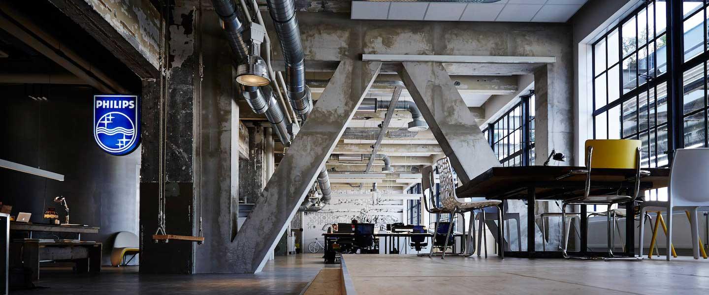 Flexplek / coworking Strijp CS Eindhoven