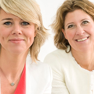 Maartje en Stefanie van Licht Interim marketing & communicatie professionals